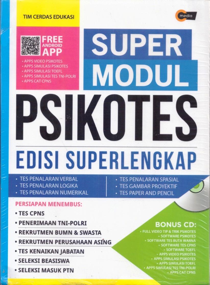 SUPER MODUL PSIKOTES EDISI SUPERLENGKAP (PLUS CD)en