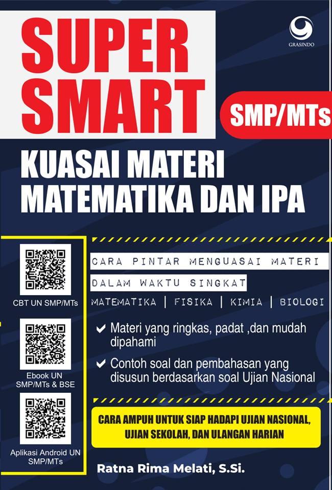 SUPER SMART KUASAI MATEMATIKA DAN IPA SMP/MTSen