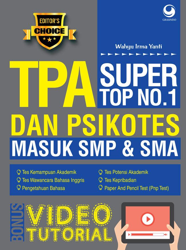 SUPER TOP NO.1 TPA DAN PSIKOTES MASUK SMP  DAN  SMAen