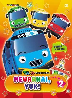 TAYO THE LITTLE BUS: MEWARNAI, YUK! 2en