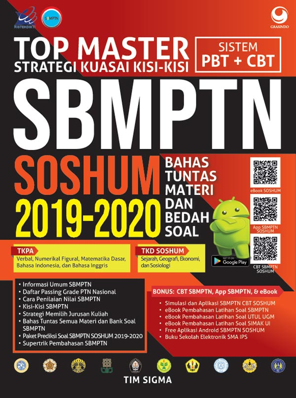 TOP MASTER SBMPTN SOSHUM 2019 - 2020en