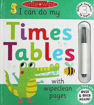 WRITE AND WIPE: TIMES TABLESen